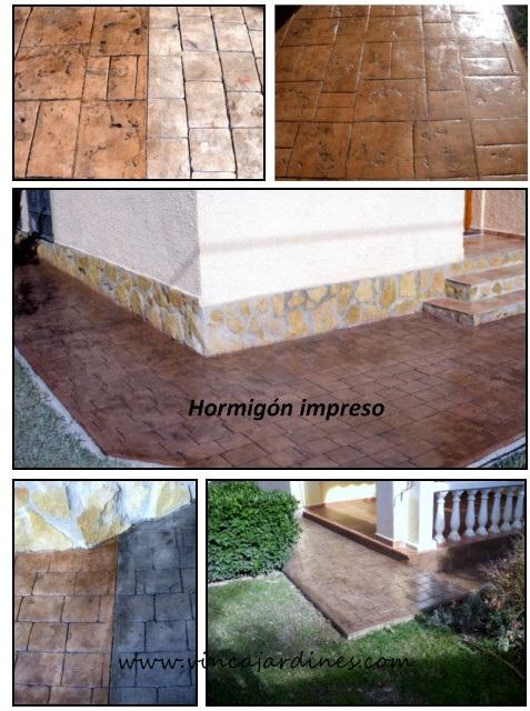 Hormigon impreso en valencia - Hormigon decorativo para suelos ...