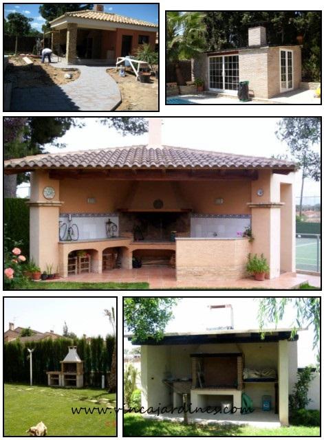 Contruccion de paelleros en valencia - Barbacoas de obra para jardin ...